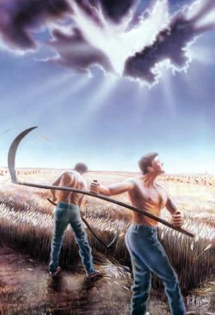 2-10-14 The Harvest (an Acrostic Sonnet Based on Matthew 9:37-38)