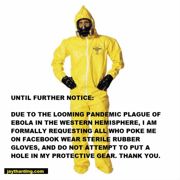 ebola notice for poking