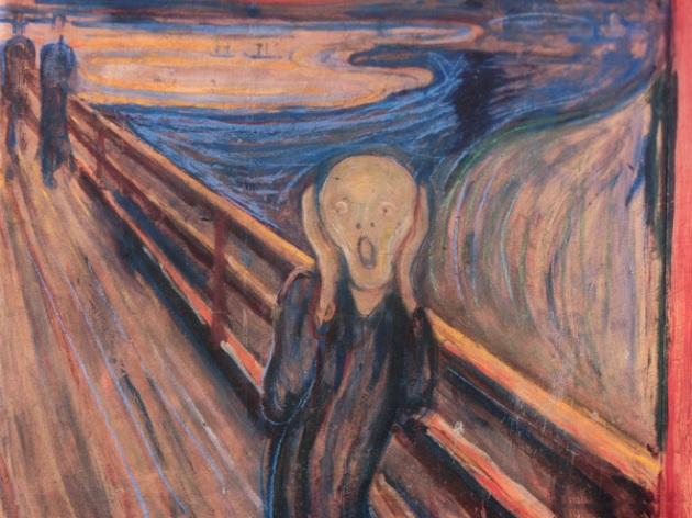 the-scream-1893 Edvard Munch
