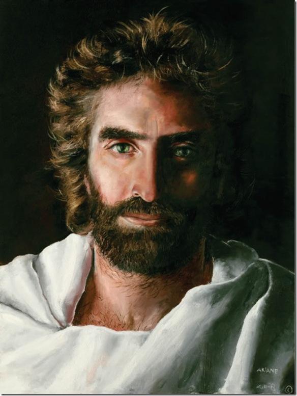 Jesus painting by Akiane Kramarik